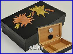 Humidor Humidifier Cigar box Master de Paja Cigar box