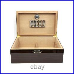 Humidor St Dupont 001297 for 100 cigars box wooden case and humidifier holder