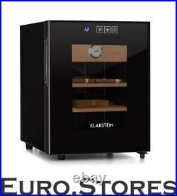 Klarstein El Presidente 33 Humidor 50 W Touch Cedar 33L LED black New and Orig