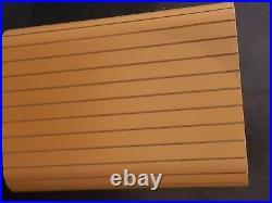 LARGE 16 X 12-1/2 X 8-1/2 Silk Lined Wood Box
