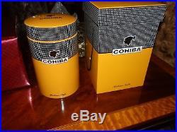LIMITED EDITION COHIBA CIGAR JAR HUMIDOR WithFANCY BOX MADE IN SPAIN