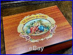 La Aroma De CUBA Cigar Wood Humidor Tobacco Box Edieion Especial