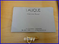 Lalique Crystal Madrona Vintage Cigar Humidor Box Excellent Condition