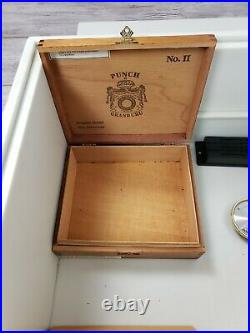 Large Custom Cigar Humidor Made from Corian 23 x 16 x 10 Box 200 +