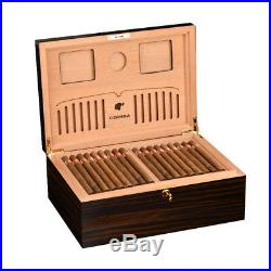 Large Luxury cedar Wooden Cigar Humidor Box Cohiba High Gloss Finish CC-0044