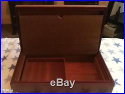Luxury Large Quality Rosewood Humidor Cigar Box. Bargain £145