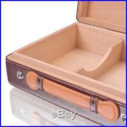 Luxury Portable Cigar Box Portable Travel Cigar Humidor