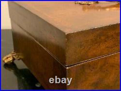 Maitland Smith Hand Made Wooden Cigar Humidor
