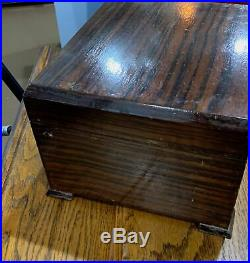 Massive 1940's Alfred Dunhill London Cigar Trunk Box Humidor L@@K