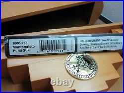 Montecristo 75th Anniversary Empty Wooden Cigar Box Humidor 11x9.5x2.75
