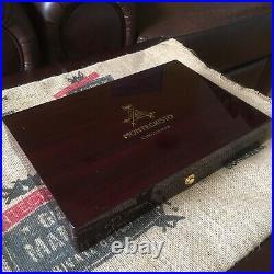 Montecristo Cincuenta Piano Finish Empty Wooden 10ct Cigar Humidor 11.5x8x1.75