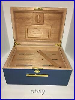 My Father Cigars Don Pepin Garcia 15th Anniversary 100 Cigar Blue Humidor New