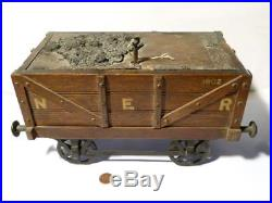 NER Railway Co Model Coal Wagon 1902 Table Humidor CIGAR Oak Box LARGE