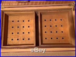 Nicaragua La Finca Wooden Cigar Box / Humidor (NO CIGARS) Credo Precision 70