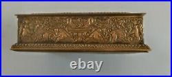 OFFERS E. F. Caldwell Bronze and Ivorine Humidor Box