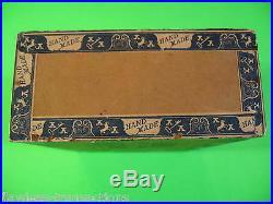 Oder Oma Vintage Antico Vuote a Mano in Legno Humidor Decorato Cigar Box Nice