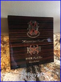 PROMETHEUS FUENTE FUENTE OPUS X HEAVEN & EARTH CIGAR BOX LTD 2018 Humidor