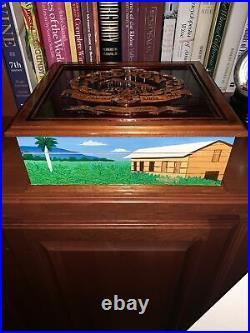 Padron 1926 40th Anniversary Hand Carved Cedar Cigar Chest Humidor (RARE)