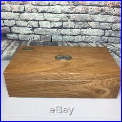 Padron Millennium 1964 Series Hardwood Large Cigar Box Humidor Vintage Italy