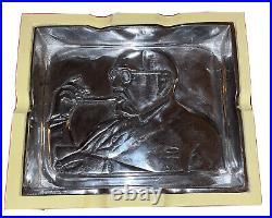 Pappy Van Winkle Drew Estate Cigar Ashtray & 15 ct. Travel Humidor Unused