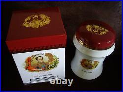 Pot humidor cigar jar box zigarrenkiste tarro caja puros giarra sigari HABANOS