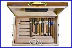 Premium Large 100-150 Cigars La Madera Cubana Cigar Humidor Exclusive Luxury
