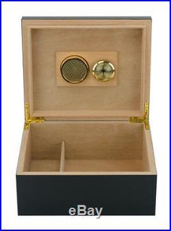 Quality Cohiba 25+ Count Cigar Humidor Box Cabinet Humidifier Hygrometer 21