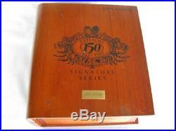 Rare 1995 Partagas 150 Don Ramon Signature Cigar Humidor # 86 of 1000
