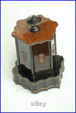 Rare 19th Century French Antique Napoleon III Music Box Humidor