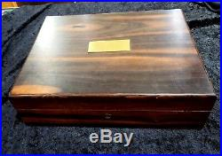 Rare Alfred Dunhill Humidor Cigar Box Gifted By Sergio Mendes With Plaque