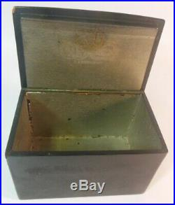 Rare Antique Russian Ptd COSSACKS Tobacco Humidor Box Vishnyakov Imperial Era