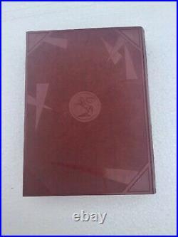 Rare RED ColtRock Bakelite Faux Book Tobacco Box Humidor Stash Box C. 1929-1935