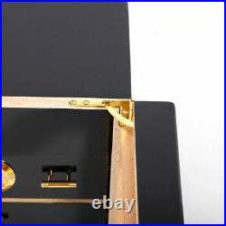 Real Spanish Cedar Wood High Gloss Handmade Indoor Cigar Humidor Cabinet Box