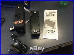 SANTA DAMIANA CIGAR HUMIDOR HABANA 2000 LACQUERED BOX With Cigar Oasis & Extras