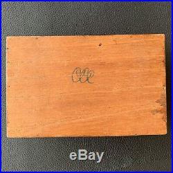 SANTA ROMA Antique Vintage Premier Selection Sigar Humidor, Tobacco Holder Box