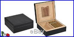 Scatola Grande Umidificatore 40 Sigari Case Cigar Humidor Box Lubinski Q61pn040