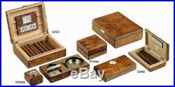 Set Accessori Scatola Umidificatore Sigari Case Cigar Humidor Box Lubinski Q2005