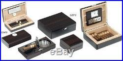 Set Accessori Scatola Umidificatore Sigari Case Cigar Humidor Box Lubinski Q2572