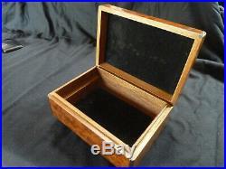 TIFFANY & Co Burl Humidor Jewelry Trinket Box