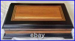 Tobacco Cigar Box W Huidifier Higrometer Cedar Wood Partagas Limited Edition