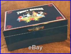 Tommy Bahama STAKES ARE FLY HUMIDOR Poker Inspired Mahogany Brand New Boxed