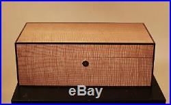 Unique Humidor solid wood construction -luxury cigar box elie bleu davidoff size