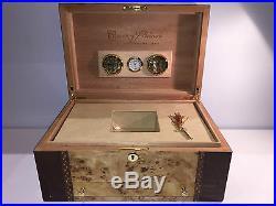 Very Rare Box Case Scatola Cuervo Y Sobrinos Pure Humidor Cigar Humidor