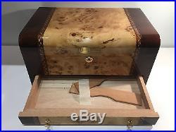 Very rare Box Estuche Scatola CUERVO Y SOBRINOS Humidor Puros Cigar Humidor