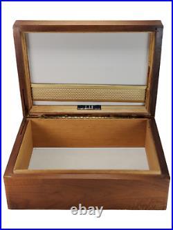 Vintage Alfred Dunhill London Lined Humidor Cigar Box