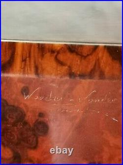 Vintage Custom Humidor Cigar Wooden Box Case by Wooden Wonder 2004