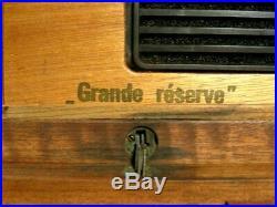 Vintage Davidoff Grande Réserve Mahogany Humidor Box (needing some TLC)