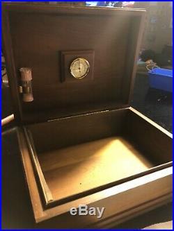 Vintage Humidor Box