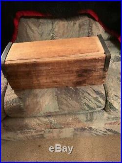 Vintage Wooden Tobacco Leaf Drying Box