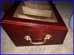 Vintage humidor cigar box